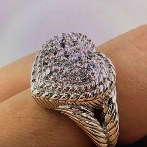 Judith Ripken Heart Ring